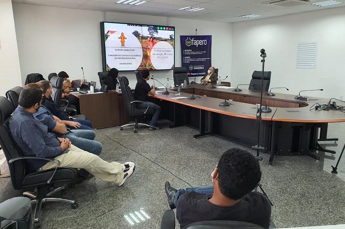 Evento, organizado pela Fundação Rondônia de Amparo ao Desenvolvimento das Ações Científicas e Tecnológicas e a Pesquisa, apresentou projetos com potencial para serem financiadas por indústrias instaladas na Zona Franca de Manaus