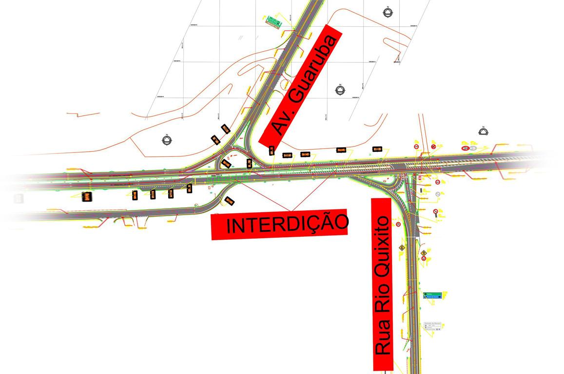 A interdição tem como objetivo a revitalização da infraestrutura viária do local, que faz parte do Termo de Compromisso nº 01/2016 firmado com a Suframa.