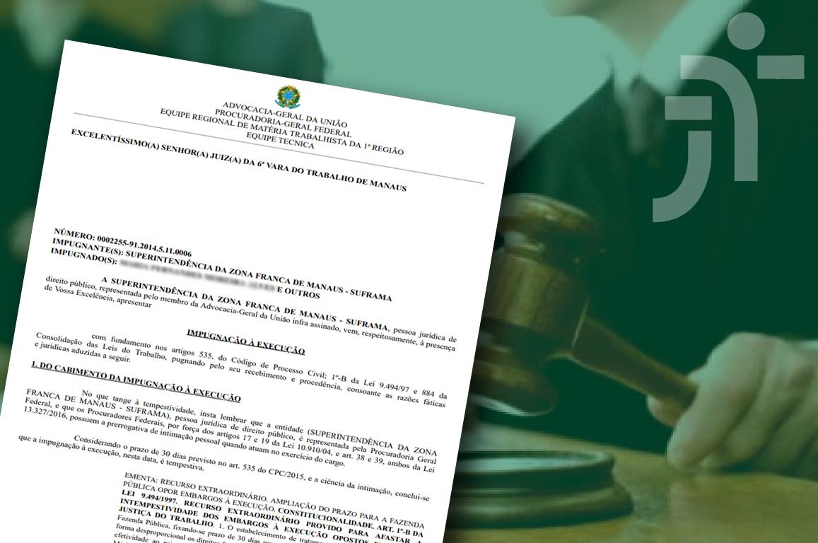 Justiça reconheceu que, com o rompimento do contrato de prestação de serviços, não cabe à Suframa efetuar nenhum reenquadramento pois a relação de trabalho dos funcionários foi firmada com a Fucapi
