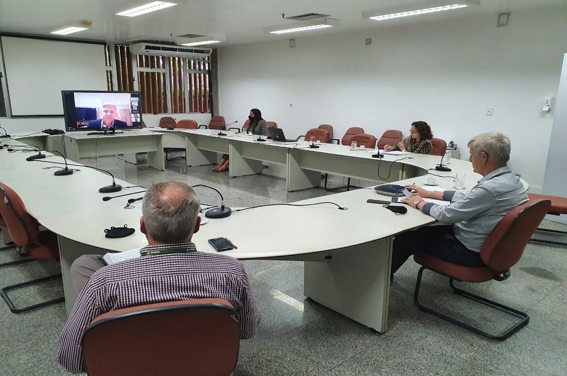 Durante reunião, foram debatidos temas que objetivam fortalecer e diversificar o Polo Industrial de Manaus, diante das atuais demandas do cenário local, nacional e mundial.