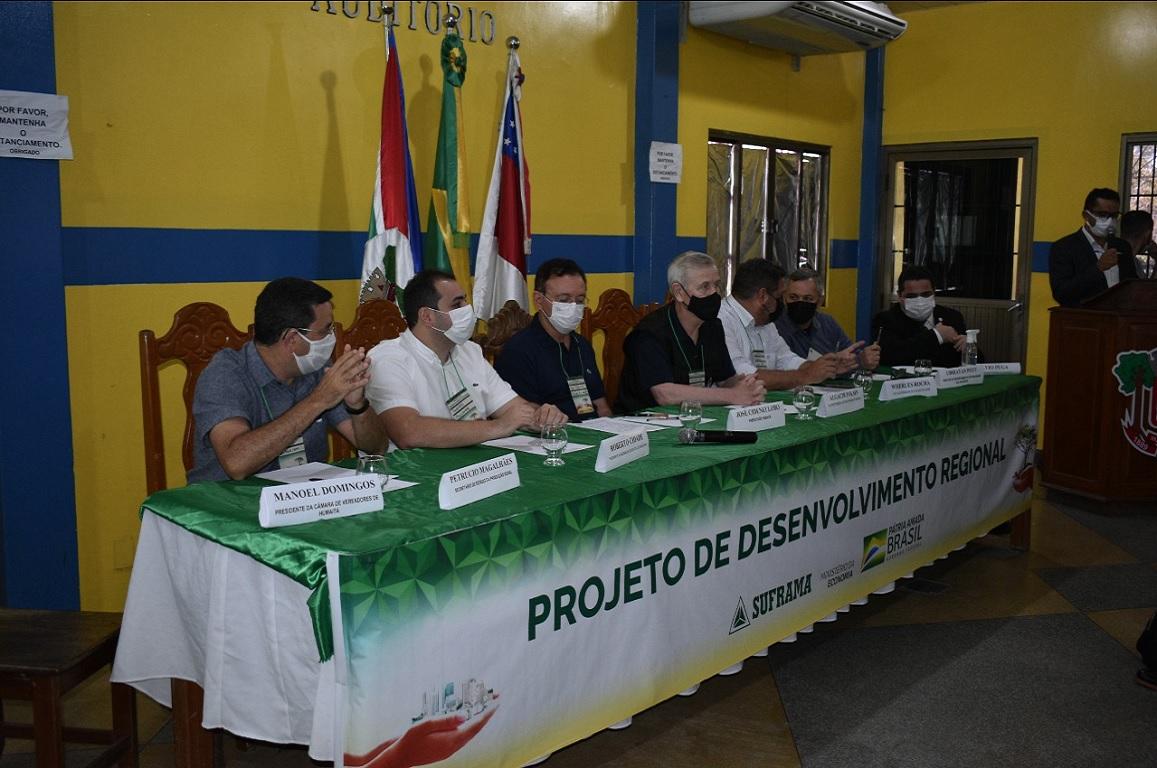 Zona de Desenvolvimento Sustentável tem o intuito de reunir instituições públicas e privadas dos estados do Amazonas, Acre e Rondônia para discutir ações de fomento ao desenvolvimento regional.