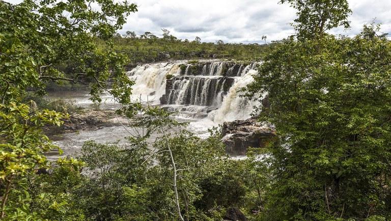 Foto da Semana: Cataratas dos Couros, na Chapada dos Veadeiros (GO)