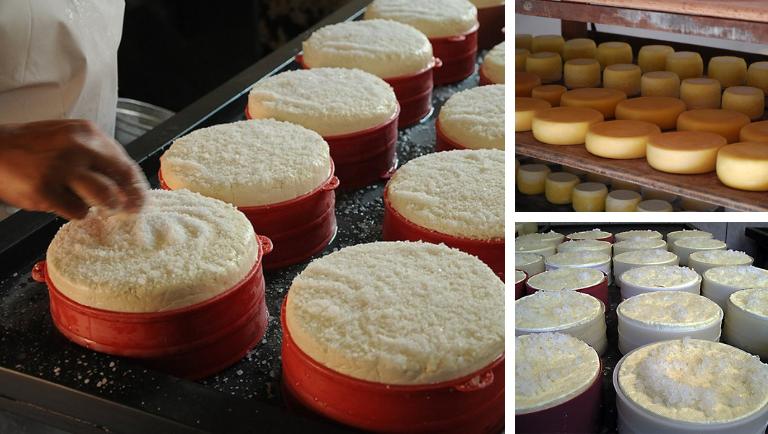 Modo artesanal de fazer o queijo de minas é um Patrimônio Imaterial do Brasil. Crédito: Iphan