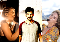 Ganhadores do Prêmio Ibermúsicas para Criação de Canções 2020 (Brasil): Julia Reis; Tom Drummond; e Daniela Spielmann