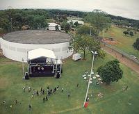 Vista aérea do Complexo Cultural Funarte Brasília